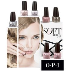 OPI Soft Shades Lacquer Display 12ct