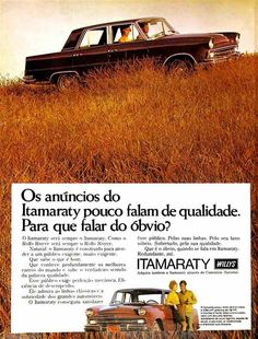 Willys Itamaraty - adv Brasil (1968)