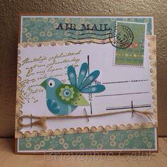 Postcard: * Airmail *