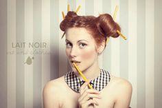 2010 Campaign © Photo: Matteo Nazzari Dress: chez LAIT NOIR Stilist and MUA: me Model Sara Pirovano