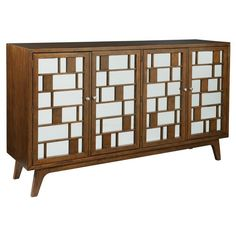 Hekman Console Mid Century Modern - CHK3628 ❤ liked on Polyvore featuring home, furniture, mid century modern console, midcentury furniture, mid-century modern furniture, mid century style furniture and hekman furniture