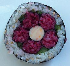 Will be making these at the next Sushi Art class!  http://kaykayskitchen.wordpress.com/2012/05/04/sushi-art-class-for-may-2012/
