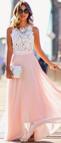 The listing is for the light pink maxi skirt (color might look slightly different on your screen). The skirt is made of soft chiffon fabric, fully lined. The skirt could be done in different colors (let me know what youre looking for). The skirt has a zipper and hook/eye at the back. During check out please select your WAIST size and LENGTH desired. Skirt designed to sit high oh natural waist, but if you prefer wearing skirt lower, then measure around the body at the desired waist leve...