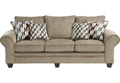 Shop for a Chesapeake Mocha Sofa at Rooms To Go. Find Sofas that will look great in your home and complement the rest of your furniture.