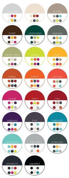 2016 Fermob color combination chart – which colors look best with each other? 2016 Fermob color combination chart – which colors look best with each other? Colour Pallete, Color Combos, Best Color Combinations, Combination Colors, Color Palettes, Colour Combinations Interior, Interior Design Color Schemes, Modern Color Palette, Colour Board