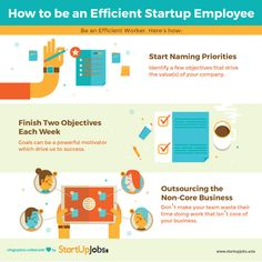 3 Ways to be an Efficient Startup Employee!