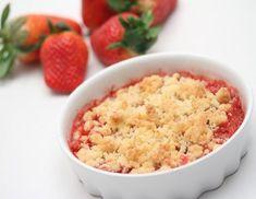 Erdbeer-Kokos-Crumble