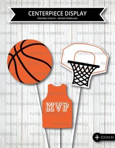 41 Trendy Baby Shower Ideas For Boys Sports Theme Basketball Birthday Basketball Baby Shower, Basketball Birthday Parties, Basketball Court, Birthday Party Centerpieces, Baby Shower Centerpieces, Sports Banquet Centerpieces, Basketball Decorations, Display, Center Pieces
