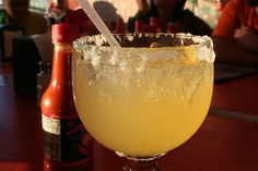 """My """"CERVEZARITAS""""    Ingredients:  Four 12-ounce Mexican beer (i.e. Modelo, Tecate)  1 cup (8 ounces) tequila  1 can (12 ounces) frozen limeade concentrate, thawed  Lime wedges  Kosher salt OR Mexican Chili Lime Salt (i.e Tajin Fruit & Snack Seasoning or Lucas)    Directions:  In a large pitcher, combine the beer, tequila and limeade. Rub a lime wedge around the rim of each of glass and dip it in the salt (whichever you prefer). Fill glasses w/ice.  Pour the margaritas into the glasses and…"""