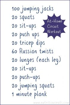 Today I am sharing a couple of workouts and talking about cross-training. When I am training for a running race I tend to limit myself to just running which isn't a good thing. Cross training can d Workout Circuit At Home, Push Workout, At Home Workouts, Body Workouts, Circuit Workouts, Workout Routines, Workout Ideas, Full Body Circuit, Weight Workouts