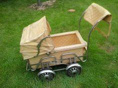 Starozitny kocarek Prams And Pushchairs, Baby Strollers, Czech Republic, Wheels, Vintage, Nostalgia, Puppets, Archive, Baby Prams
