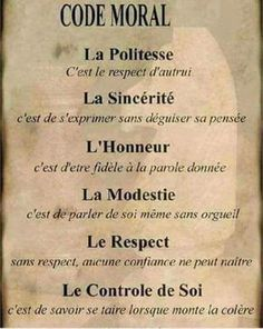 Morele code - Apocalypse Now And Then Positive Attitude, Positive Quotes, Attitude Quotes, Le Moral, Quote Citation, French Quotes, French Language, Morals, Change Quotes