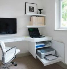 Leading 10 Stunning Home Office Layout – Home office design layout Home Office Layouts, Home Office Setup, Office Nook, Home Office Space, Home Office Design, Home Office Furniture, Furniture Design, Teen Furniture, Office Ideas