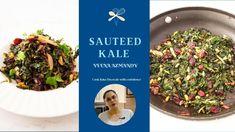 Sautéed Kale with Pine Nuts - Easy Kale Recipe