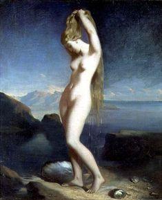 Venus Anadyomène (Venus of the Sea) (painting, 1842) – Théodore Chassériau (1819–56)