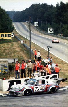 Porsche 911 Carrera RSR Turbo • Le Mans 1974.. Ma ville/ mon quatier ;-)