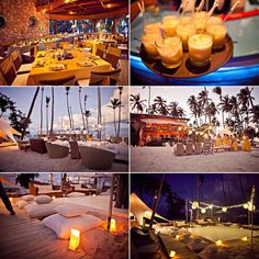 best punta cana wedding venue, jellyfish, caribbean wedding decor