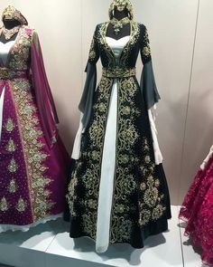 Pin by Melina Corso on Renaissance in 2019 Renaissance Dresses, Medieval Dress, Old Dresses, Vintage Dresses, Fantasy Gowns, Queen Outfit, Fairytale Dress, Medieval Fashion, Beautiful Gowns