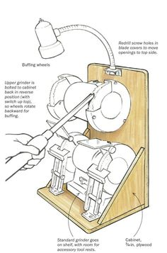 Suporte pra esmeril #woodworkingtools #WoodworkingBench