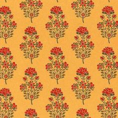 Explore latest range of designer wallpapers from Sabyasachi inspired from pre-independent culture of India at Nilaya by Asian Paints. Visit us for more wallpaper designs. Indian Patterns, Textile Patterns, Textile Prints, Textile Design, Print Patterns, Indian Prints, Indian Textiles, Print Wallpaper, Pattern Wallpaper