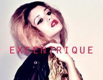 Excentrique cover by Teona , via Behance Behance, Cover, Eccentric