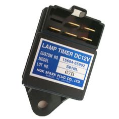 Glow Plug Lamp Timer 4 Wiring Terminals for Kubota Engine Hyundai Parts, Engines For Sale, Made In Japan, Kubota, Spare Parts, Plugs, Fork Lift, Engineering, Glow