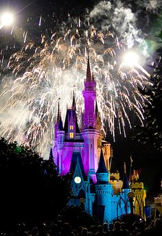 Fireworks at Disney