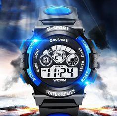 Hot Luxury Digital Alarm Stopwatch Back Light Watch Women Men Children Sports Wrist Watch Clock relogio feminino masculino Casual Watches, Cool Watches, Watches For Men, Children's Watches, Jewelry Watches, Elegant Watches, Modern Watches, Stylish Watches, Luxury Watches