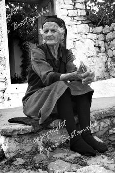 Old woman,Korça-Albania