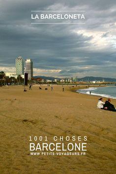 PLAGE - La Barceloneta est certainement l'une des plages les plus populaires de Barcelone. Si vous passez par là, ne manquer pas d'aller vous perdre dans les ruelles de cet ancien quartier de pêcheurs.