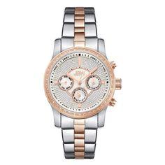 JBW Women's J6327B Vixen 0.42 ctw Stainless Steel Diamond Watch