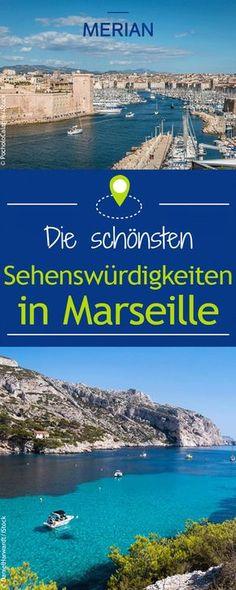 Die wunderschöne Hafenstadt Marseille in Frankreich hat wahre Traumkulissen zu bieten: Die Calanques, Nôtre Dame de la Garde, die bezaubernde Altstadt und, und, und... Wir zeigen euch die schönsten Sehenswürdigkeiten der Stadt!