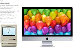 Apple Celebrates Thirty Years of Macintosh with Homepage Tribute, Visual Timeline, 'Mac 30' Video