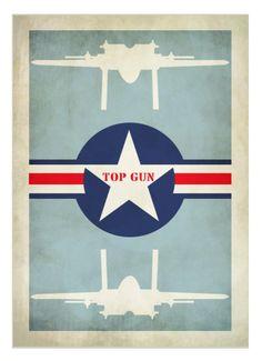 Top Gun (1986) ~ Minimal Movie Poster by David Peacock Illustration Avion, Tomcat F14, Top Gun Movie, Minimal Movie Posters, Alternative Movie Posters, Movie Poster Art, Fan Art, Love Movie, Tom Cruise