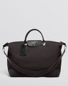 LONGCHAMP Boxford Large Duffel Bag. #longchamp #bags #shoulder bags #hand bags #nylon #leather #