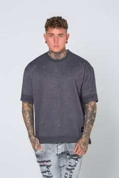 1b658dc964 Sixth June. Dark GreySweatshirt
