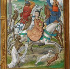 カスティーリャ女王フアナ(狂女王フアナ)の時祷書 British Library, Add. Ms. 35313 f.158v