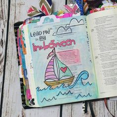 Bible Journaling by @my.creative.worship