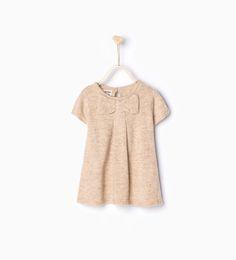 ZARA - KIDS - Knit dress with bow