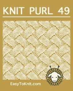 Zig Zag Lines Knit Purl stitch, free knitting stitch pattern. The stitch can be used for scarves, shawls, summer sweaters, throws and more. Knit Purl Stitches, Dishcloth Knitting Patterns, Knitting Stiches, Circular Knitting Needles, Knitting Charts, Lace Knitting, How To Purl Knit, Knitting Projects, Knitting Ideas