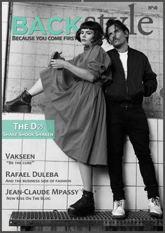 The Do means Olivia Merilahti and Dan Levy. They are the leading lady and man behind the indie pop band founded back in 2005, in Paris, France.