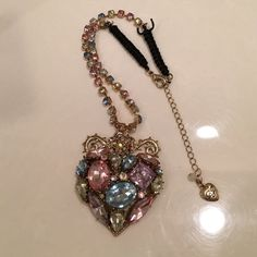 Betsy Johnson Necklace Never worn Betsey Johnson Jewelry Necklaces