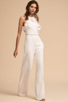 Best 12 Product Name Fashion elegant falbala vacation jumpsuit Brand Name Eyekingdom Gender Women Season Spring/Summer Type Lady/Elegant/Fashion Occasion Office/Daily life/Date Pattern Plain – SkillOfKing. Rehearsal Dinner Fashion, Rehearsal Dinner Etiquette, Rehearsal Dinners, Elegante Jumpsuits, Jumpsuit Elegante, Estilo Cool, Wedding Jumpsuit, New Wedding Dresses, Wedding Reception Outfit
