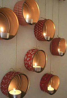 recicla las latas de atún e ilumina tu hogar creando un ambiente relajado