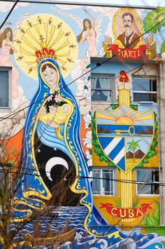 Cuba mural - Portland, OR
