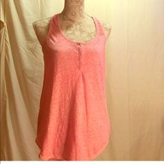 Pink tank Gently used American Eagle tank top Highlow American Eagle Outfitters Tops Tank Tops