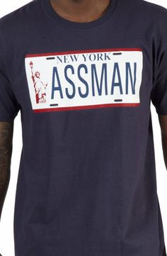 Seinfeld Assman Shirt: Kramer's License Plate from The Fusilli Jerry