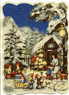 Alter Adventskalender - SCHNEEWITTCHEN - Amag 128 | eBay