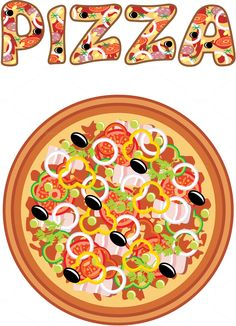 Set of Pizza. The archive contains - 5 files - 5 files high-resolution JPG Pizza Cartoon, Party Cartoon, Kids Pizza Party, History Of Pizza, Pizza Branding, Vintage Italian Posters, Pizza Vector, Pizza Art, Cute Disney Drawings