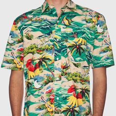 Hawaiian Tropical Shirt by HUF